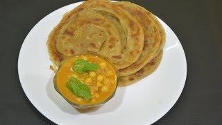 சுவையான கோதுமை பரோட்டா செய்யலாம் வாங்க |Wheat Parota and Dry Peas Kurma|Dinner menu |Amma samayal