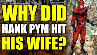 Why did Ant-Man hit his wife?