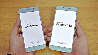 Samsung Galaxy A5 (2017) vs A8 (2016) - Speed Test! (4K)