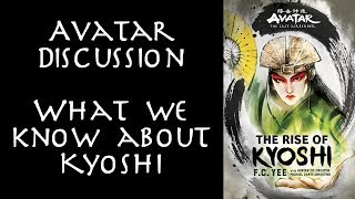 Avatar Discussion - What we know about Kyoshi