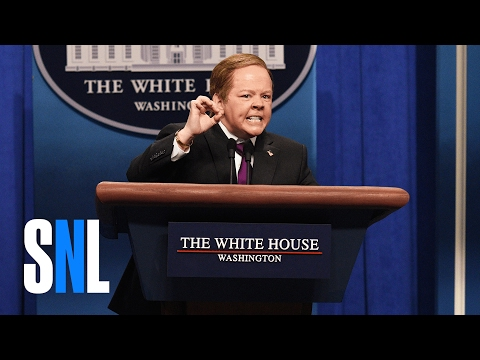 Sean Spicer Press Conference Cold Open SNL