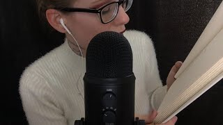 ASMR Reading You To SLEEP | With Famous POETRY (Binaural, Ear To Ear)