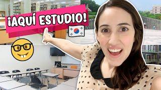 ¿Cómo son las Universidades en Corea? TOUR POR MI ESCUELA | Hablemos de Doramas