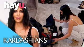 Kim Secretly Transforms Khloe | Keeping Up With The Kardashians