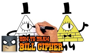 How to Draw Bill Cipher   Gravity Falls