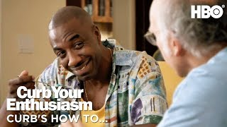 Leon & Larry Discuss How to Organize Phone Contacts | Curb Your Enthusiasm (2017) | HBO