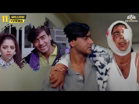 Xxx Mp4 Best Comedy Scene Of Ajay Devgan And Akshay Kumar Suhaag 1994 Action Movie 3gp Sex