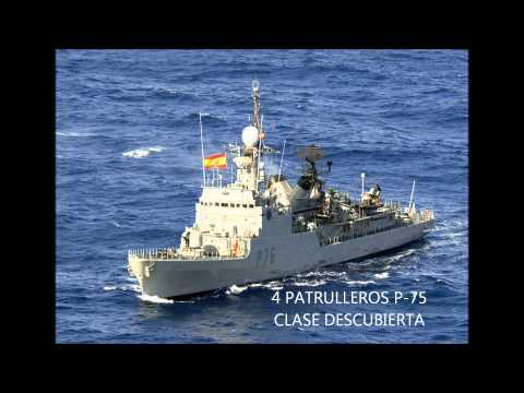 ejercito español Buques Armada Española