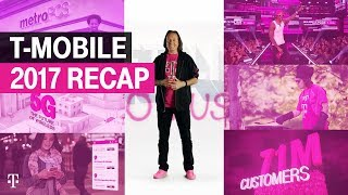 T-Mobile Channel Trailer: 2017 Recap | T-Mobile