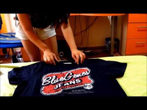 Customizar camisetas GRANDES Rápido y Fácil