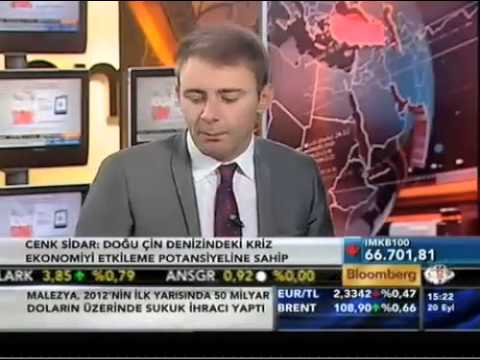 Cenk Sidar BloombergHT Interview (09/20/2012)