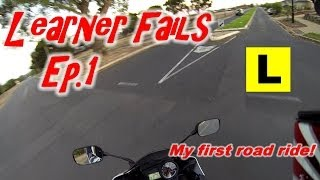 My first road ride! | Learner Fails Episode #1 | YZF-R15 v2