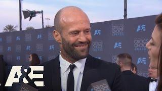 Jason Statham on the Red Carpet | 2016 Critics' Choice Awards | A&E