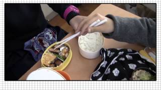 Japanese High School Lunch Time!!