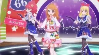 Aikatsu! - Season 4 - Akari, Sumire, Hinaki, Juri, Ichigo & Mizuki - Hello! Winter Love (Ep 165)
