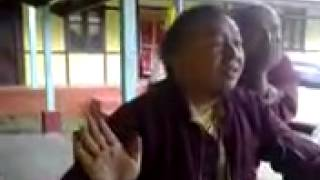 A monk singing a hindi song very funny! Must watch!