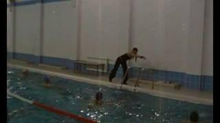 Аква аэробика в бассейне