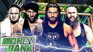 Money in the Bank 2018 - Full Match Cards - Winner Predictions