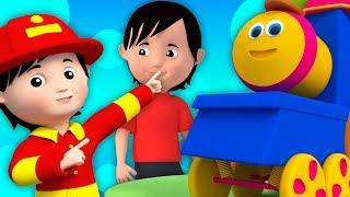 Bob xe lửa | Những điều mà mọi người làm | bài hát cho trẻ em | Bob train Things That People Do