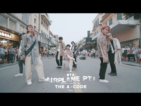 [K-POP IN PUBLIC] AIRPLANE pt.2 - BTS (방탄소년단) dance cover | The A-code from Vietnam