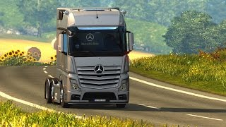 Euro Truck Simulator 2 - Share Mercedes-Benz Actros MP4 Roadstars
