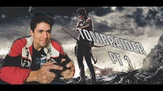 Chacs stream live #72 - TOMBRAIDER (XBOX360) PT 1