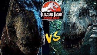 REXY VS INDOMINUS REX, JURASSIC WORLD REMATCH   Jurassic Park: Operation Genesis Dinosaur Arena