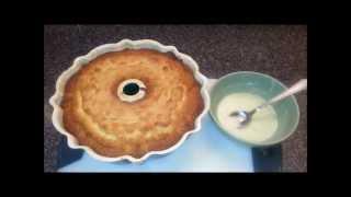 Sour Cream  -N- Lemon Pound Cake