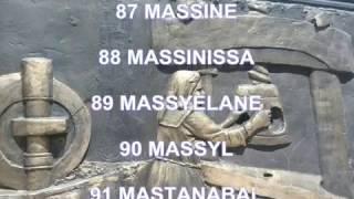 Prénoms masculins berber (amazigh) donner un noms amazigh a votre enfants