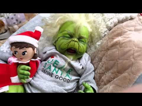Headless Reborn Twins - Christmas Haul For Grinch