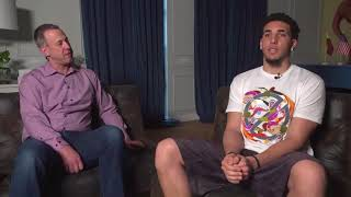 LiAngelo Ball sits down for exclusive interview in Lithuania | ESPN