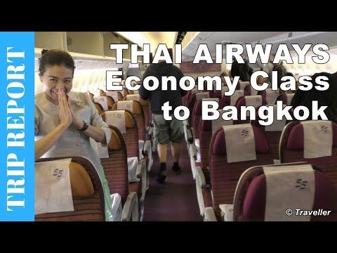 Xxx Mp4 Thai Airways Boeing 777 Economy Class Flight Review To Bangkok Suvarnabhumi Airport Long Haul Flight 3gp Sex