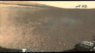 Curiosity's First Color Panaroma of Gale Crater, Mars   Video