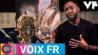 ZOOTOPIE - Making-of doublage VF  Les voix françaises des personnages de ZOOTOPIE