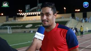 افتتاح بطولة عسفان الثانية l لقاء مع الكابتن عماد الكناني لاعب فريق التعاون