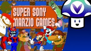 [Vinesauce] Vinny - Super Sony Marzio Games (It Might Be NES)