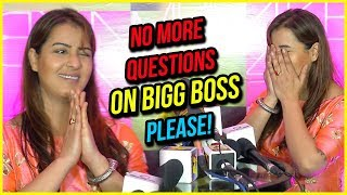 """No More Questions On Bigg Boss"" REQUESTS Shilpa Shinde"