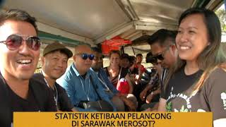 Kalendar Sarawak: Statistik ketibaan pelancong di Sarawak merosot?