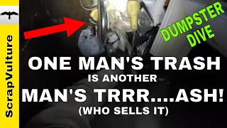 Dumpster Diving for Treasure & Scrap Metal | Recycle for MONEY!! | Sell on eBay for CASH