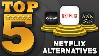 "Top 5 ""FREE"" Movies & TV Shows Apps (Best Netflix Alternatives)"