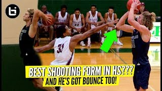 """""""BEST SHOOTING FORM IN HIGH SCHOOL?"""" Caleb Lohner Can Shoot That Thing!"""