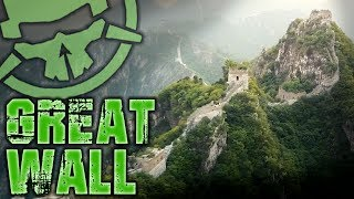 Flying the Great Wall of China
