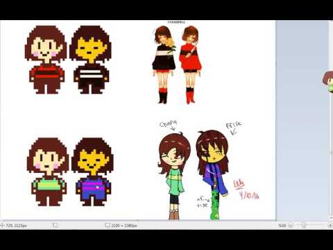 Xxx Mp4 Undertale Underfell Underswap Chara And Frisk Pixel Paint 3gp Sex
