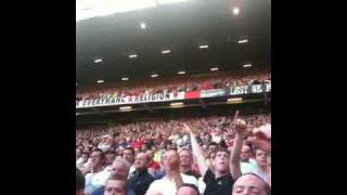 Carlos Tevez - who's that twat from Argentina chant at Old Trafford