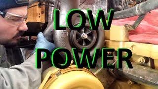 Cat Diesel Engine Low Power Troubleshooting.