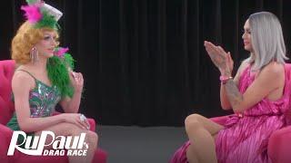 The Pit Stop w/ Raja & Laganja Estranja | RuPaul's Drag Race (Season 9 Ep 6) | Now on VH1