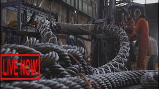 Awesome Inside Heavy Factory Largest Cable Process, Extreme Technology Hardcore Making #ARJ