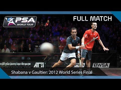 Xxx Mp4 Squash Full Match 2011 World Series Finals Final Shabana V Gaultier 3gp Sex