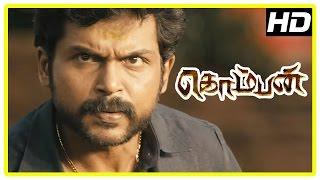 Komban Tamil Movie | Back to Back Full Fight Scenes | Karthi | Lakshmi Menon | Rajkiran | IM Vijayan