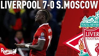 How Good Was That! | Liverpool v Spartak Moscow 7-0 | Jonathan's Match Reaction